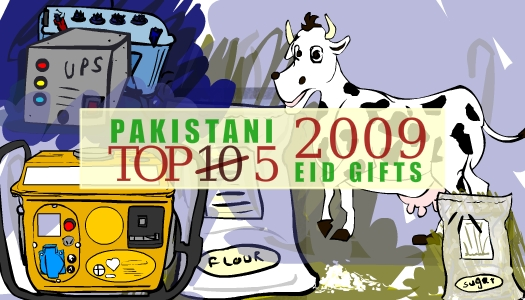 Top 5 Eid Gifts in Pakistan for 2009 Eid ul Fitar – animated