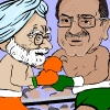 Let's watch this zardari-manmohan boxing match to see who is going to resolve Pak-India conflict?