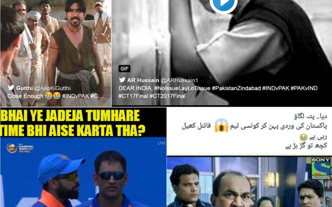 Funniest Trolls on Twitter for Champion's Trophy PakVsIndia