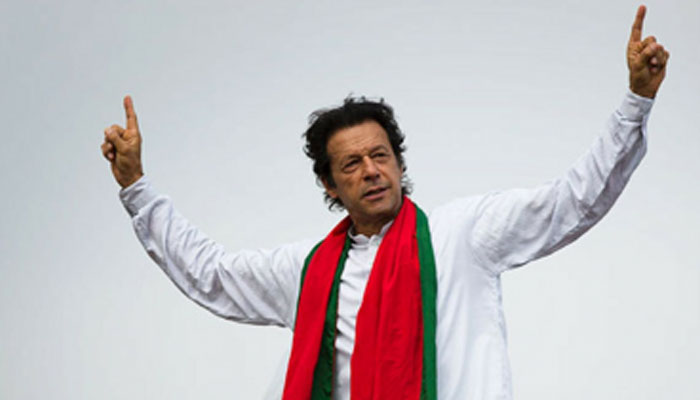 Hand-in-hand with Imran Khan for 'Naya Pakistan'