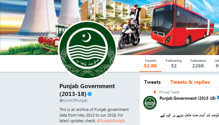 Can @GovtOfPunjab twitter account still be recovered?